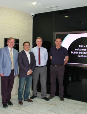 DIT (Dublin Institute Technology) visit to Altice Labs in Aveiro