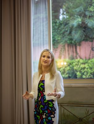 Minister of State for European Affairs Ms. Helen McEntee, T.D. in Lisbon