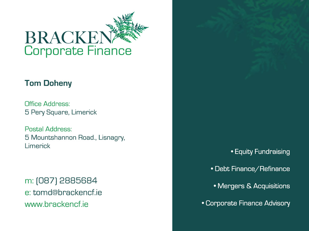 Bracken Corporate Finance